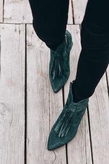 Zapatos de mujer de cerca