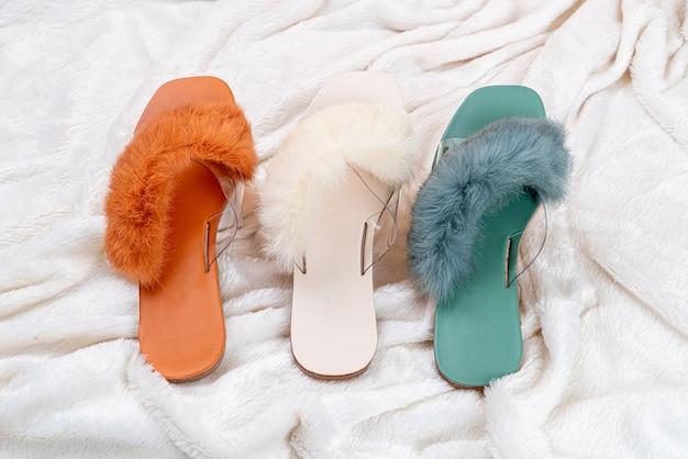 Zapatos de mujer hermosa moda