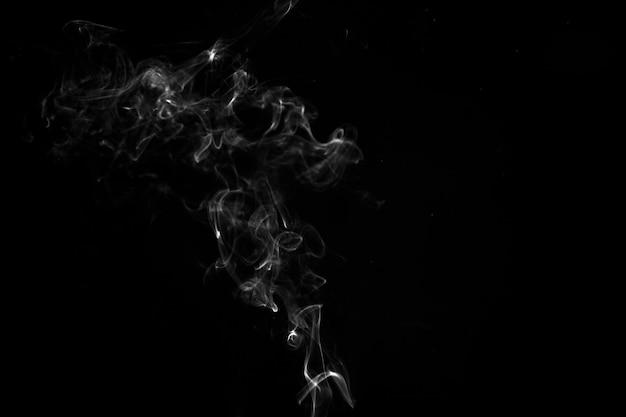Zarcillo de humo blanco