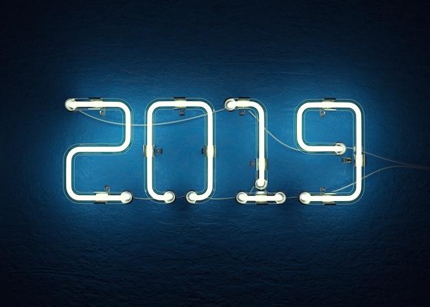 2019 il buon anno 3d rende