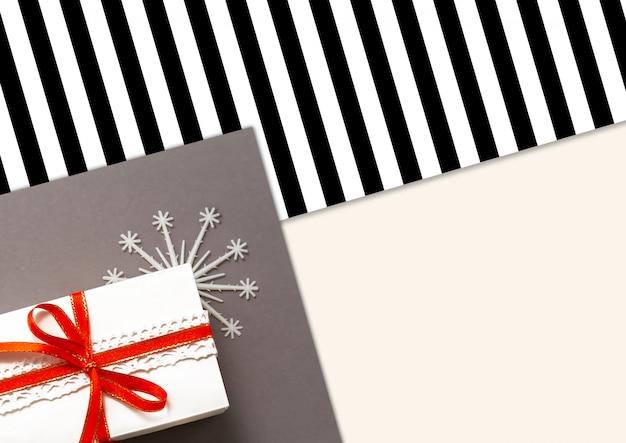 2020 decorazioni natalizie flatlay