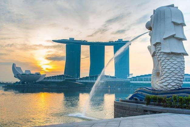 24 ottobre 2016: punto di riferimento di singapore