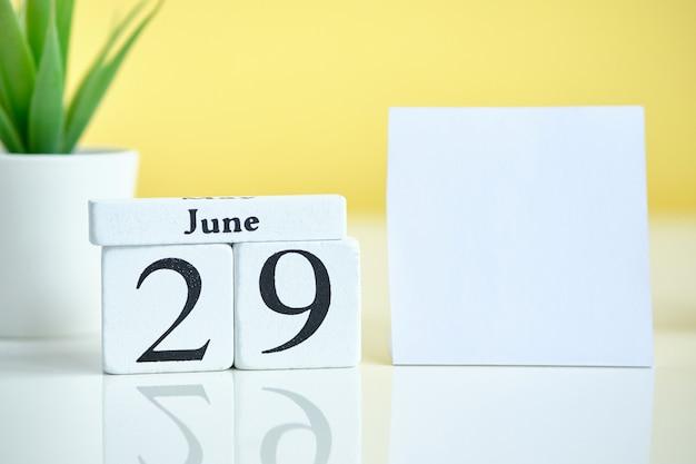 29 giugno data nel calendario