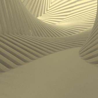 3d astratto geometrico