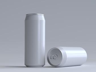 3D ha reso la soda può senza un'etichetta