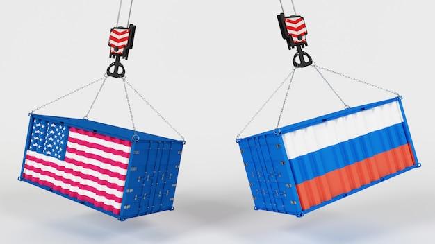3d rendering di tarrif di importazione degli stati uniti
