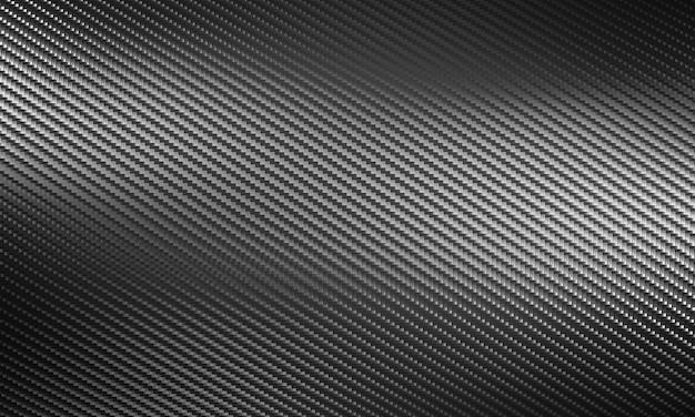 3d rendono di una struttura della fibra del carbonio