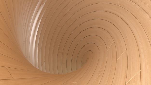 3d sfondo di display in legno