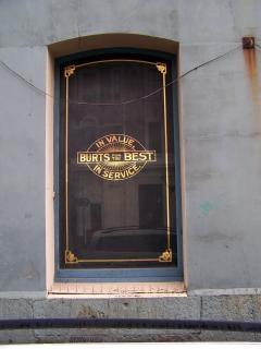 A & t finestra burts strada cumberland
