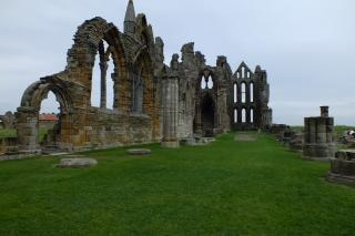 Abbazia rovine rovine dell'abbazia