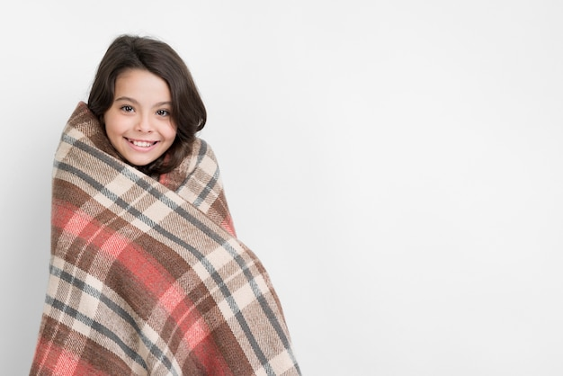 Abbigliamento stagione invernale con bambina