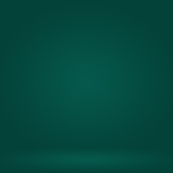 Abstract blur empty green gradient studio ben utilizzare come sfondo