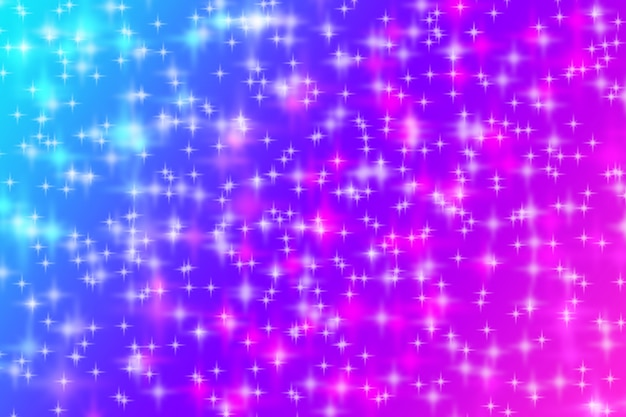 Abstract sparkle bright background blue pink purple gradient