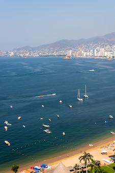 Acapulco messico - vista aerea