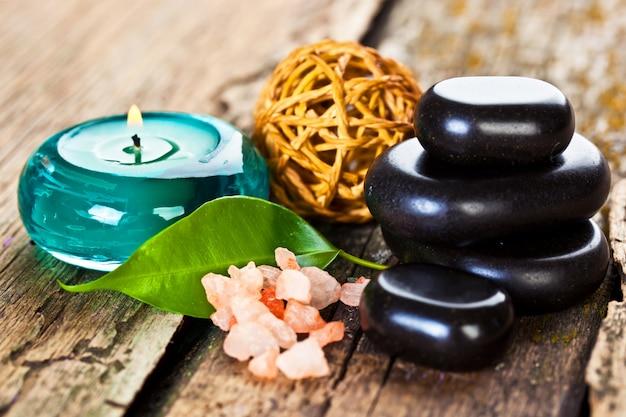 Accessori per aromaterapia nella spa