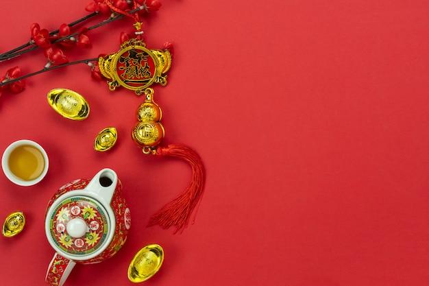 Accessori per le vacanze di capodanno lunare e capodanno cinese.