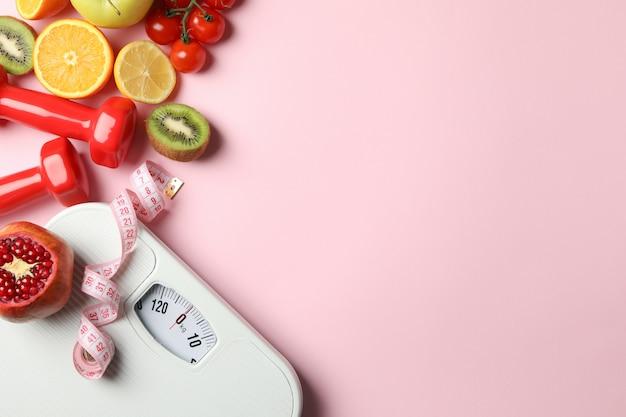 Accessori per perdita di peso o stile di vita sano