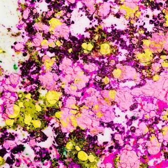 Acqua gialla luce rosa colorato