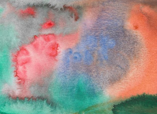 Acquerello astratto. illustrazione dipinta a mano