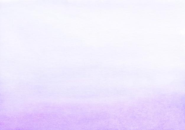 Acquerello sfondo sfumato viola chiaro e bianco