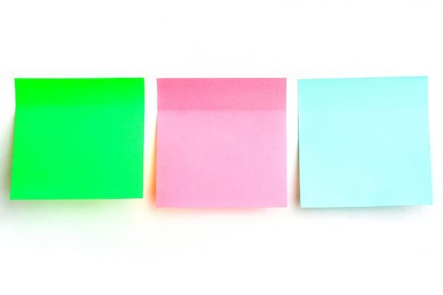 Adesivi multicolori per appunti