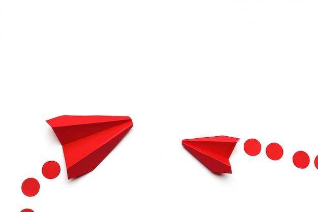 Aereo di carta giocattolo origami