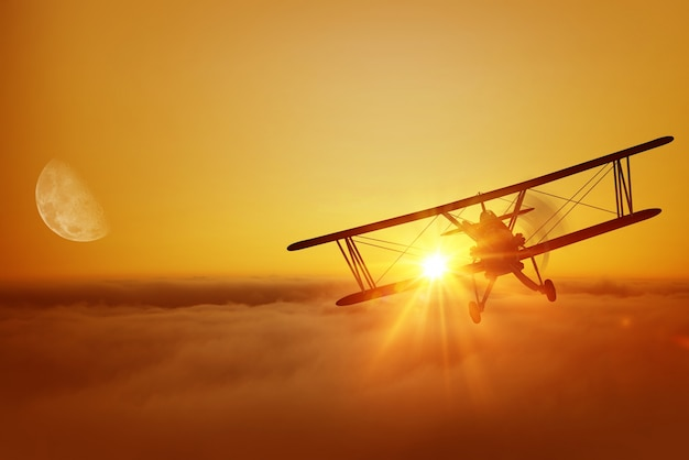 Aereo di volo aereo