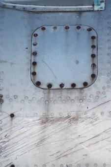 Aeromobile danneggiato fusoliera di trama