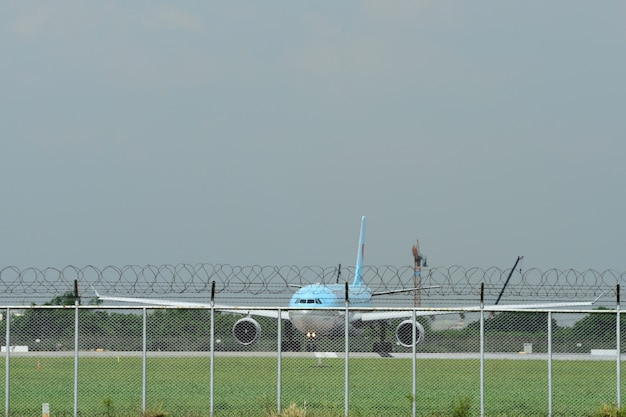 Aeroporto internazionale di suvarnabhumi, tailandia, voli thai airways all'aeroporto di suvarnabhumi
