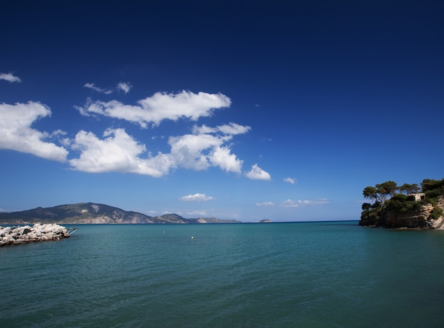 Agios sostis nell'isola di zante
