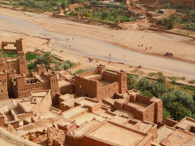 Ait-ben-haddou, l'antica città fortificata in marocco