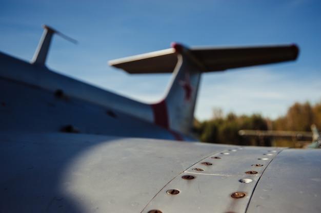 Ala del vecchio aereo.