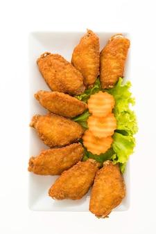 Ala di pollo fritto
