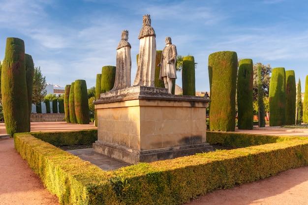 Alcazar de los reyes cristianos, cordova, spagna