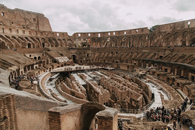 All'interno del colosseo