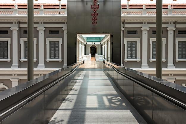 All'interno del museo nazionale