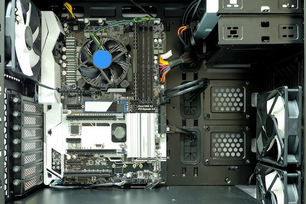 All'interno della custodia del computer
