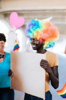 Allegro festival di gay pride e lgbt