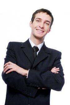 Allegro uomo d'affari