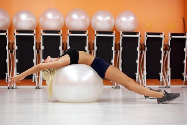 Allenamento della palla in forma