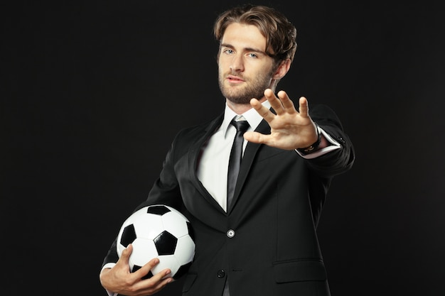Allenatore, affari, sport
