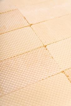 Alto angolo della superficie del wafer
