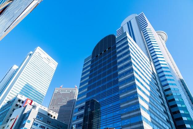Alto edificio in giappone.