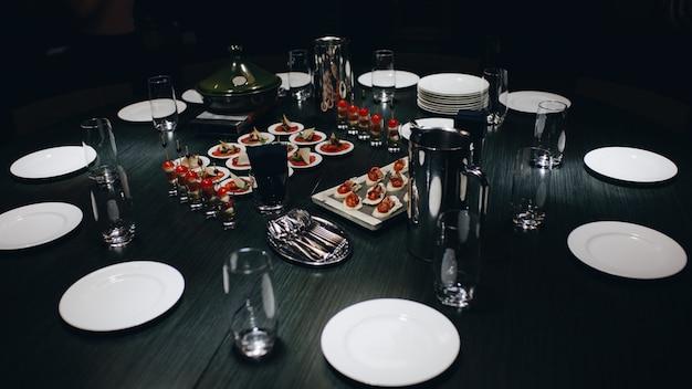 Ambiente di lusso nel ristorante