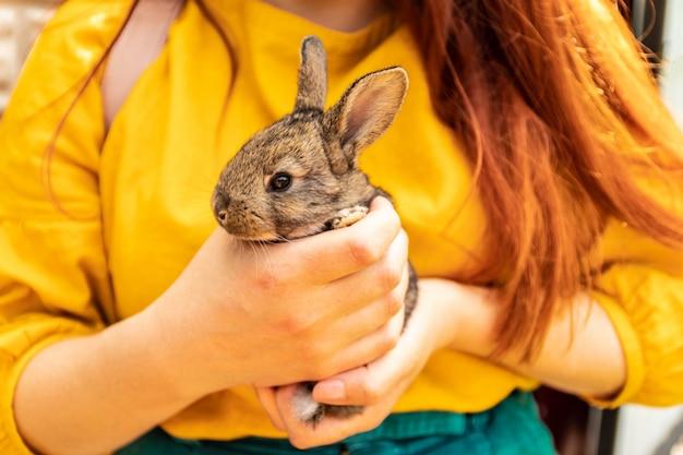 Amicizia con easter bunny