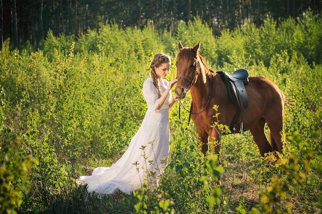 Amicizia tra donna e cavallo
