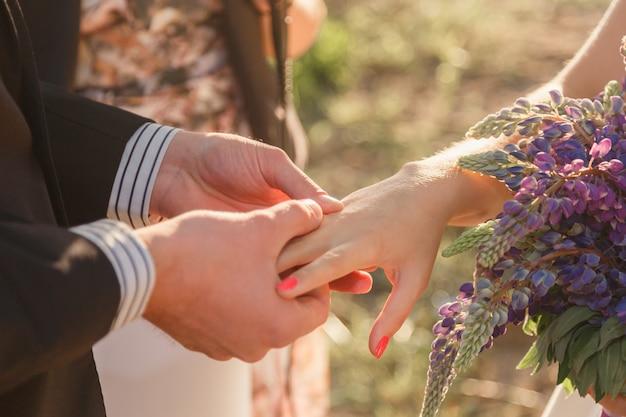 Anelli di scambio sposi