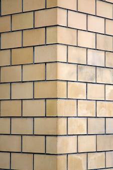 Angolo del muro di mattoni