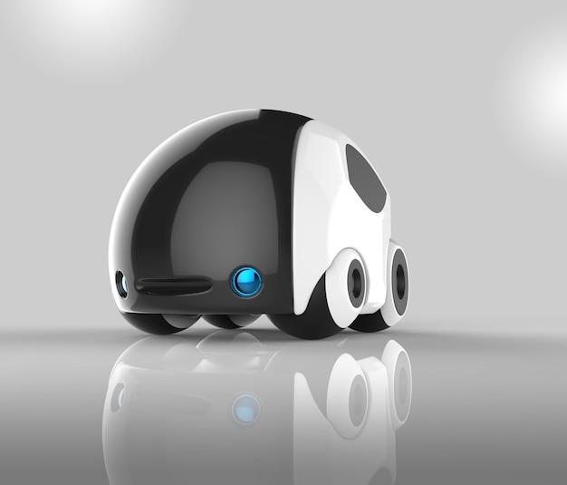 Animazione futuristica del veicolo