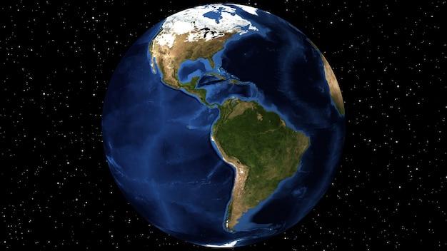 Animazione mediante immagini satellitari (nasa).